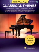 Classical Themes - Instant Piano Songs - Simple Sheet Music + Audio Play-Along