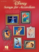Disney Songs for Accordion (3rd edition) / 13 pohádkových melodií pro akordeon