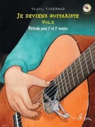 Thierry Tisserand: Je Deviens Guitariste - Volume 2 (Book/CD)