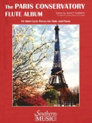 Paris Conservatory Flute Album - 16 Short Lyric Pieces for Flute and Piano