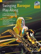 Swinging Baroque Play-Along + CD - alt saxofón a klavír