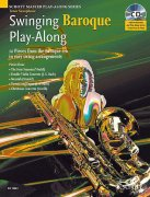Swinging Baroque Play-Along + CD - tenor saxofón a klavír