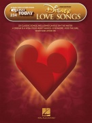 Disney Love Songs - 2nd Edition - E-Z Play Today Volume 234