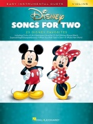 Disney Songs for Two housle - Easy Instrumental Duets