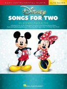 Disney Songs for Two Alto Saxes - Easy Instrumental Duets