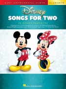 Disney Songs for Two Klarinet - Easy Instrumental Duets