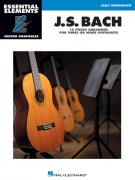 Essential Elements Guitar Ens - J.S. Bach - 15 Pieces Arranged for Three or More Guitarists