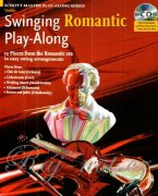 Swinging Romantic Play-Along + CD - swingové skladby pro housle a klavír