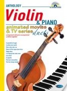 Animated Movies and TV Duets for Violin And Piano