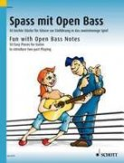 Fun with Open Bass Notes - 50 easy Pieces for Guitar to introduce two-part Playing - Dieter Kreidler
