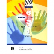 6 Easy Pieces for 3 Right Hands at 1 Piano