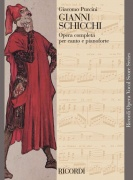 Gianni Schicchi - vocal score Vocal and Piano Reduction