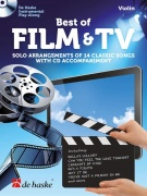 Best of Film & TV (Violin - housle) - Solo Arrangements of 14 Classic Songs with CD Accompaniment