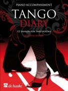 Tango Diary - Piano Accompaniment - 12 tangos for two violins