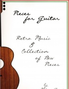 Pieces for guitar retro music & collection of new pieces