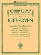 Beethoven: Complete Piano Concertos - with Audio of Full Performances & Orchestral Accompaniments Schirmer's Musical Library Vol. 2145
