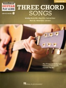 Three Chord Songs - Deluxe Guitar Play-Along Volume 12