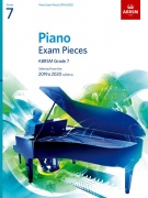 Piano Exam Pieces 2019 and 2020 - Grade 7