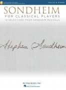 Sondheim For Classical Players - pro violoncello - 12 Selections from Sondheim Musicals