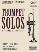 Rubank Book of Trumpet Solos - Intermediate Level - with Piano Accompaniment