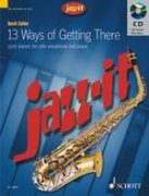 13 Ways of Getting There + CD - alt saxofon