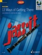 13 Ways of Getting There + CD - klarinet