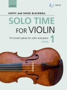 Solo Time For Violin Book 1 - 16 Concert Pieces For Violin And Piano