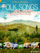 34 Well-Known Folk Songs