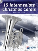 15 Intermediate Christmas Carols Tuba and Piano