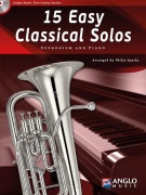 15 Easy Classical Solos Bb/C Euphonium TC/BC