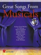 Great Songs From Musicals pro klarinet