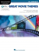 Great Movie Themes pro klarinet Instrumental Play-Along