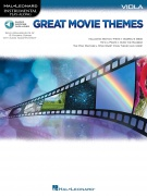 Great Movie Themes pro violu Instrumental Play-Along