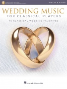 Wedding Music for Classical Players pro housle With Online Accompaniments