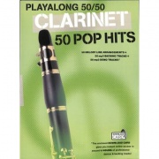 Playalong 50/50: pro klarinet - 50 Pop Hits