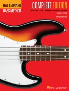 Hal Leonard Electric Bass Method - Complete Ed. - Contains Books 1,2, and 3