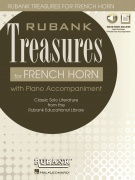 Rubank Treasures pro lesní roh - Book with Online Audio (stream or download)
