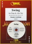 Swing Flute, Alto Saxophone and CD Playback