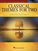 Classical Themes for Two pro violoncello - Easy Instrumental Duets
