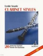 Clarinet Styles - Leslie Searle - 20 Duette