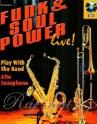 Funk & Soul Power Alto Saxophone + CD - Gernot Dechert