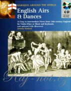 English Airs and Dances + CD - 16 Easy to Intermediate Pieces from 18th-century England