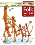 Folk for Four Band 7 - 4 Blockflöten (SATB)
