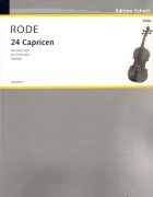 24 Caprices pro violu Jacques Pierre Rode