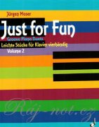 Just For Fun 2 - Jürgen Moser - Groovy Piano Duets 4ms