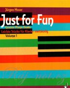 Just For Fun 1 - Jürgen Moser - Groovy Piano Duets 4ms