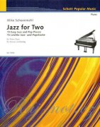 Jazz for Two pro klavír - Mike Schoenmehl