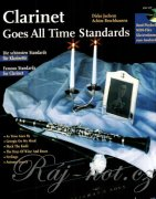Clarinet Goes All Time Standards + CD - Famous Standards for Clarinet