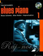 Blues Piano + CD vol. 1 - Tim Richards