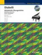 Melodious Exercises in the 5-Note Range, op. 149 + CD - Anton Diabelli